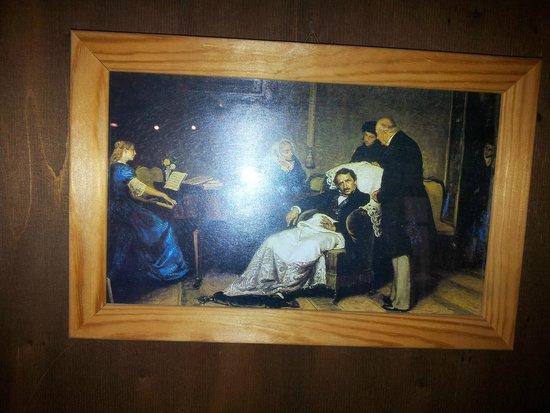 Museo Donizettiano: Donizetti malato