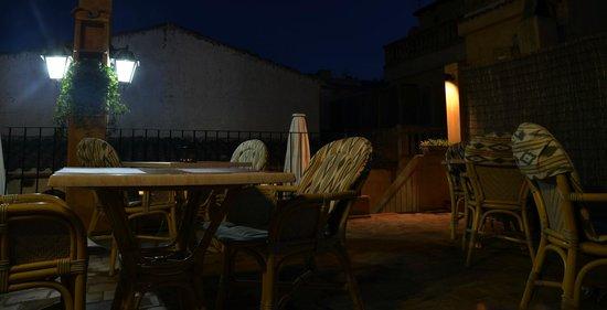 La Fragua: Auf der Dachterasse