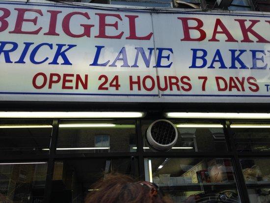 Eating London Tours: Beigel Bakery