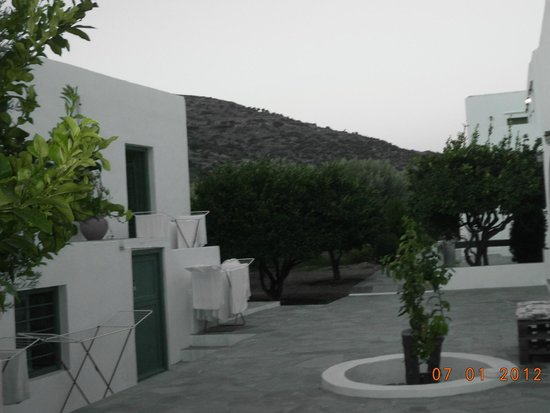Edem Hotel: Άποψη υπαίθριου χώρου