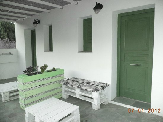 Edem Hotel : Εξωτερικός χώρος δωματίου
