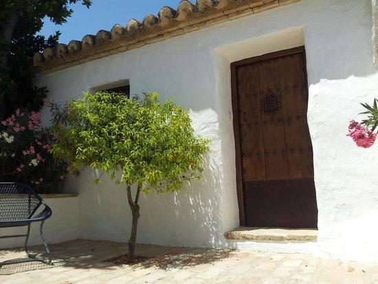 Cortijo El Guarda : Our entrance