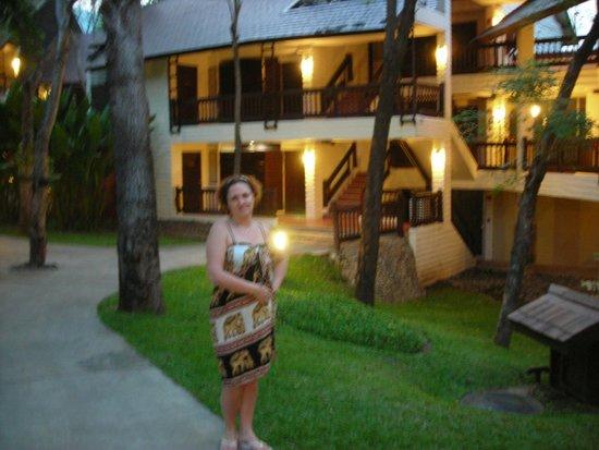 Mida Hotel Don Mueang Airport Bangkok : Номера в двухэтажном здании