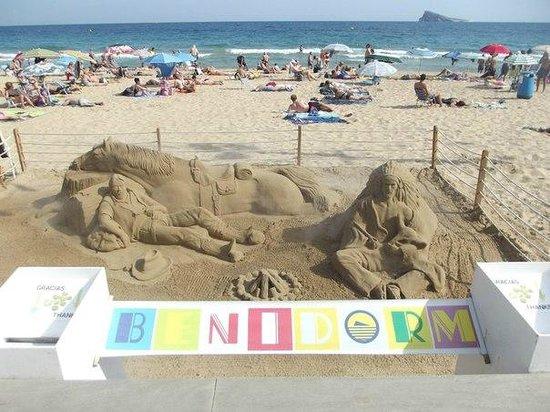 Playa de Levante: Пляж