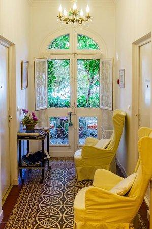 Le Roquebrune: Εσωτερικός χώρος του ξενοδοχείου.