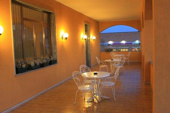 Hotel Baiardo: ingresso