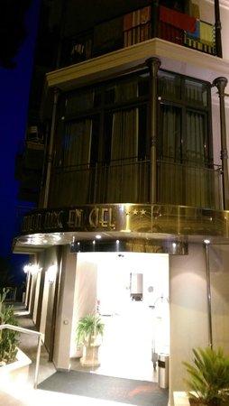 Hotel Arc en Ciel: Ingresso hotel