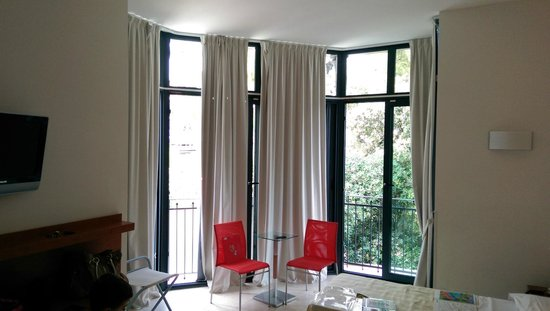 Hotel Arc en Ciel: Camera verandata