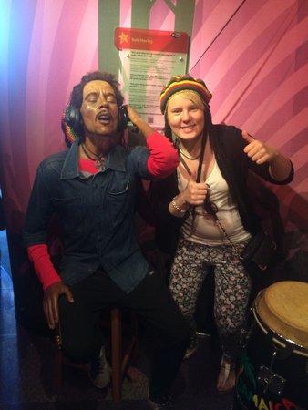 Madame Tussauds Amsterdam: Bob Marley