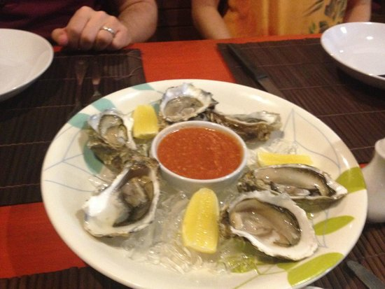 The Shack Bar And Grill: oyster