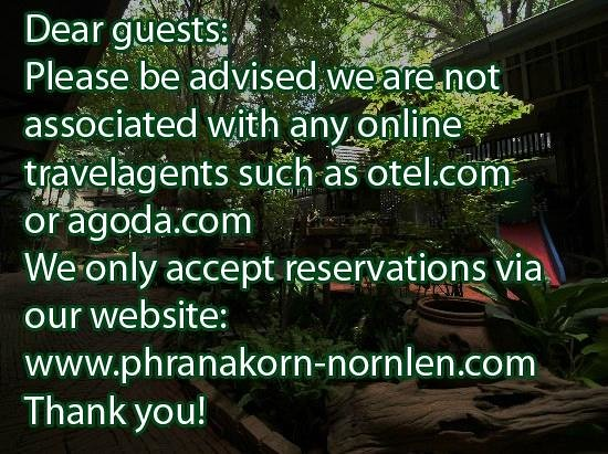 Phranakorn-Nornlen Hotel: Attention
