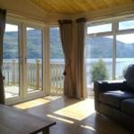 Loch Ness Highland Lodges: Luxurious views