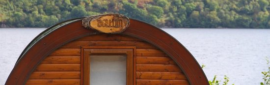 Loch Ness Highland Lodges : Our cute, fun and practical hobbits