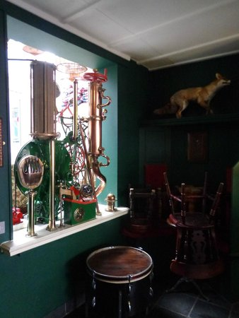 The Old Bookshop: the weird and wonderful decor
