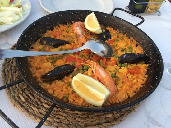 Restaurante Casa Vicent: Paella.