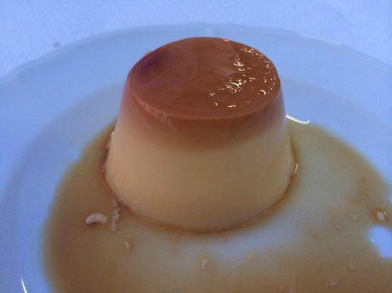 Restaurante Casa Vicent: Flan.