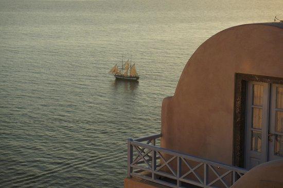 Kastro Oia Restaurant: view