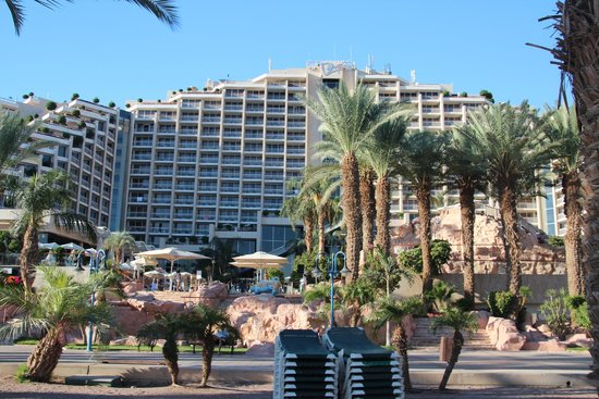 Dan Eilat: A look from the beach