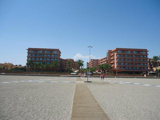Playaluna Hotel: foto desde la playa
