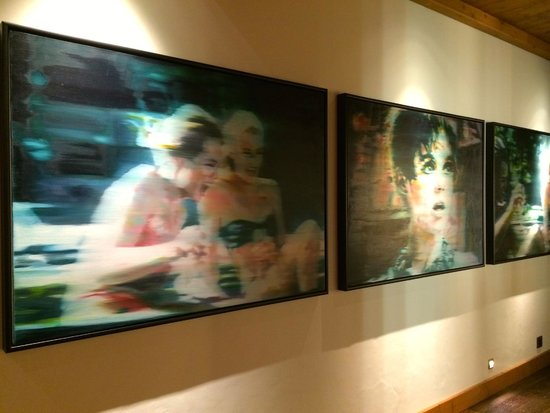 The Alpina Gstaad: Great art everywhere
