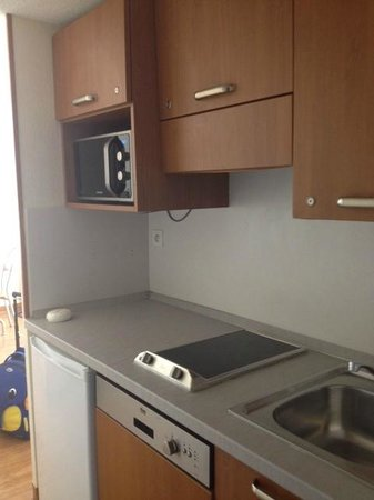 Inter-Hotel Residence Sea Side Park: Kitchenette
