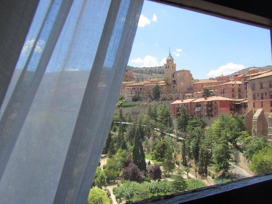 Albarracin Hotel: Vistas desde la habitación 105