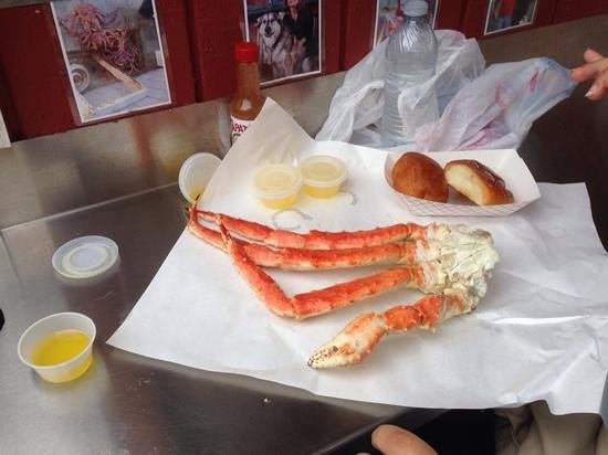 Tracy's King Crab Shack: so yummy!