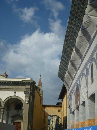 Museo degli Innocenti: The reconstruction canvas