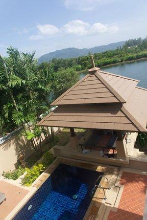 Angsana Villas Resort Phuket: View from master bedroom