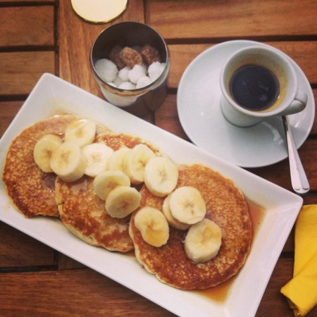 National Geographic Cafe: Pancakes