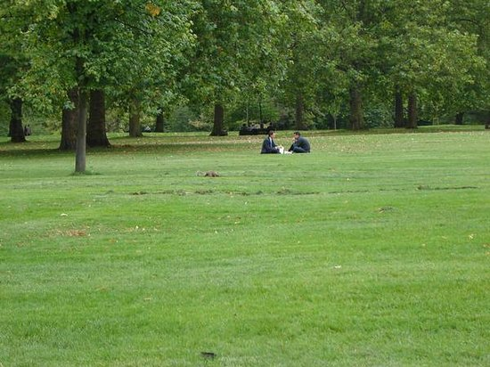 The Green Park.