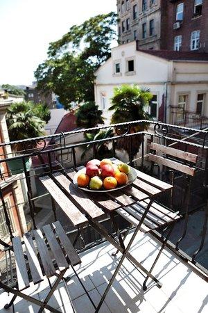 Manzara Istanbul: Balkon der Wohnung Lüle2