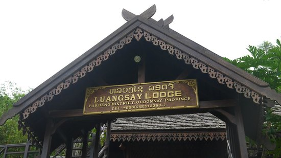 The Luang Say Lodge: Entrance