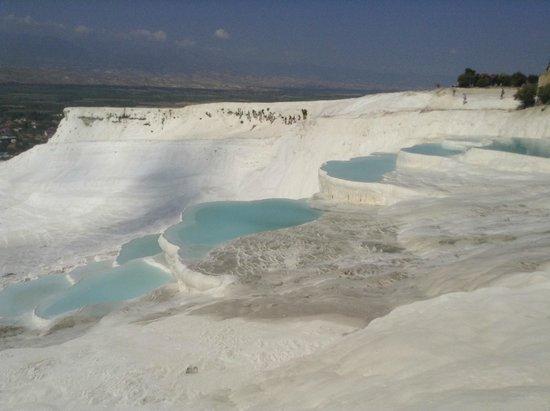 Hierapolis & Pamukkale: Травертиновые террасы