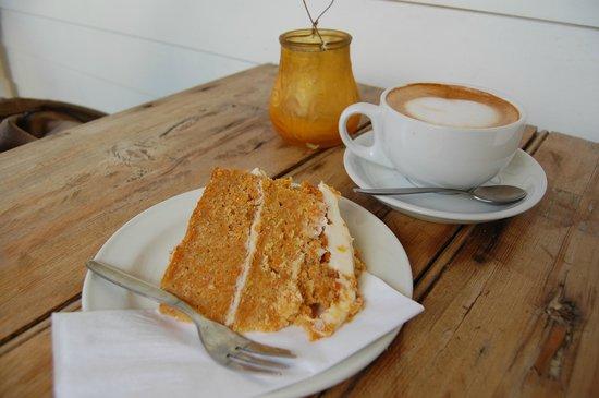Bodiam Boating Station : My lovely gluten free carrot cake!