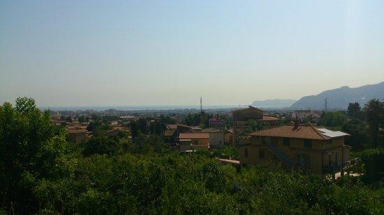 Rocca di Monreale : Scorcio di panorama dalla struttura