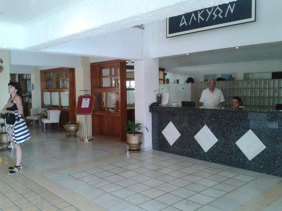 Hotel Alkyon: reception