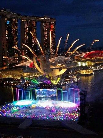 Mandarin Oriental, Singapore: NDP FireWork