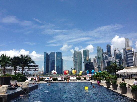 Mandarin Oriental, Singapore: MO Swimming pool