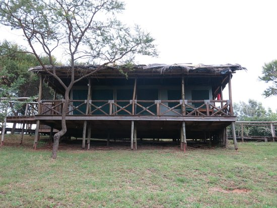 Ngorongoro Forest Tented Lodge: Notre tente