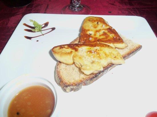 Le Jardin des Consuls: Fois gras fritto