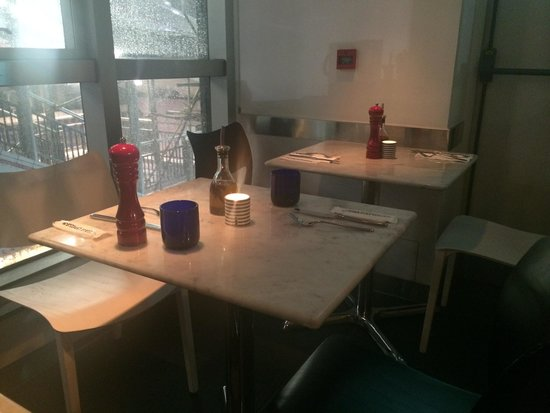 Pizza Express Soho Square: 1st floor - a section of seating