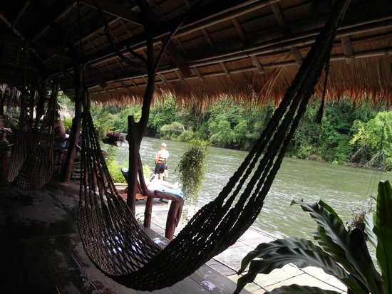 River Kwai Jungle Rafts Resort: a tranquilidade