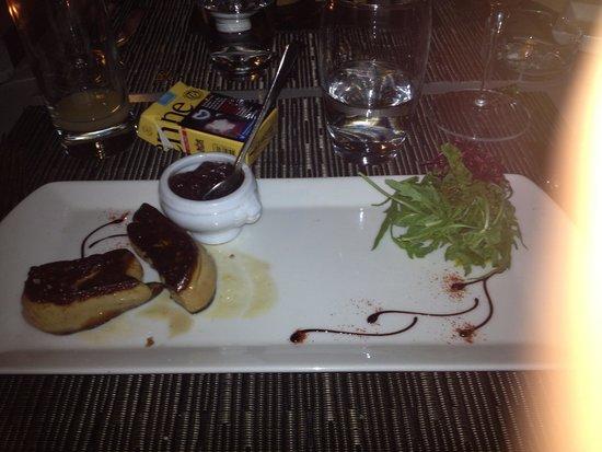 Le Sesflo: escalope de foie gras