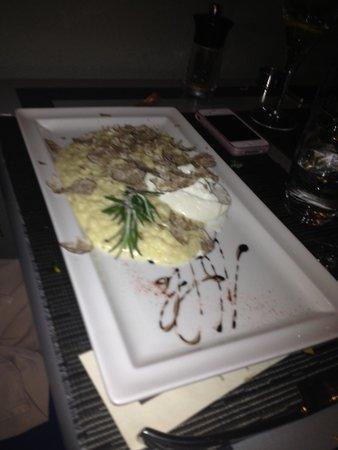 Le Sesflo: risotto a la truffe