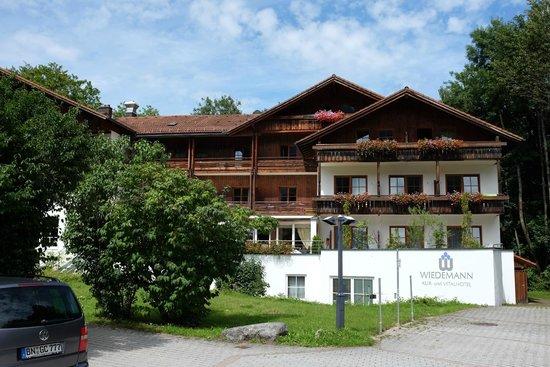 Kur-und Vitalhotel Wiedemann: Facciata dell'hotel