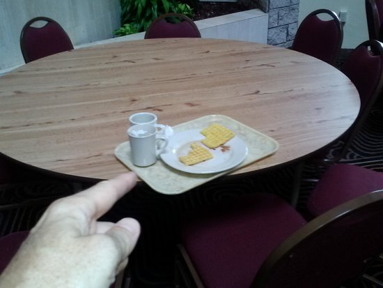 Embassy Suites by Hilton Orlando International Drive Jamaican Court: CLEAN THE TABLES!