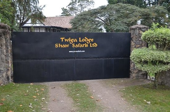 Twiga Lodge: Front Gate