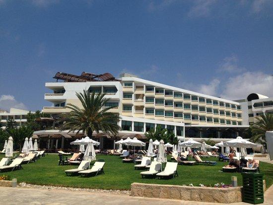 Constantinou Bros Athena Royal Beach Hotel: Garden