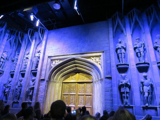 Warner Bros. Studio Tour London - The Making of Harry Potter: The famous doors